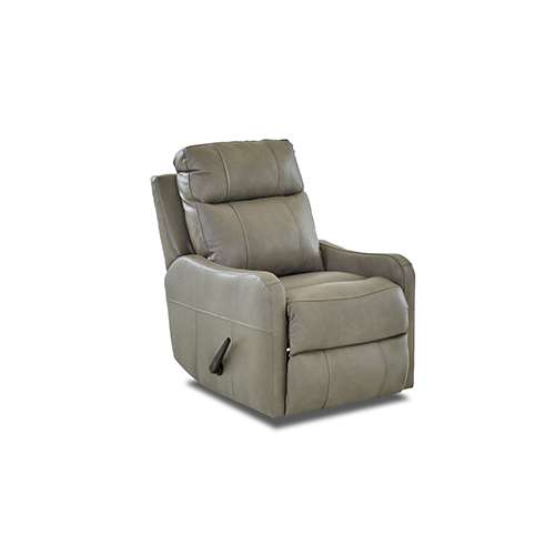 Tacoma Leather Reclining Rocking Chair