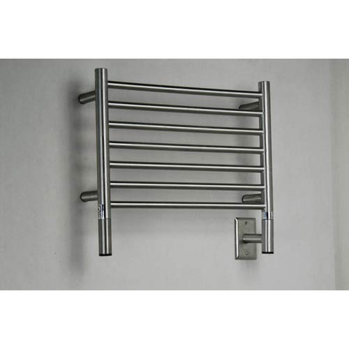 Model H Brushed Stainless Steel Straight Towel Warmer
