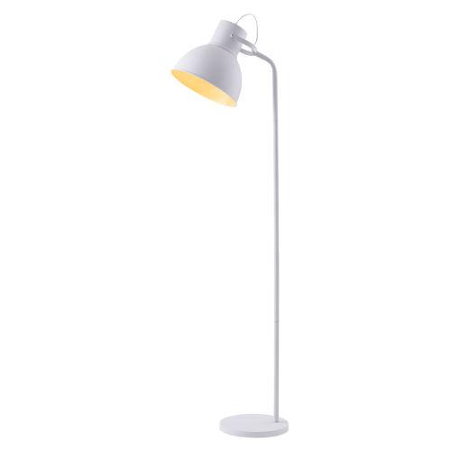 Aaron White Floor Lamp
