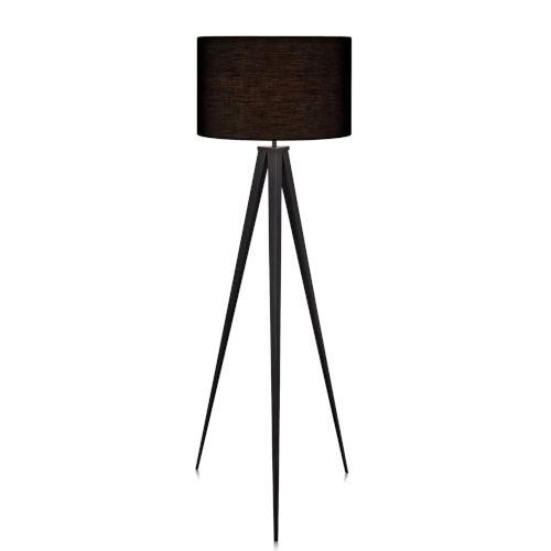 Romanza Black Tripod Floor Lamp
