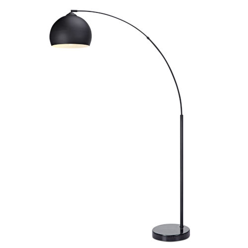 Arquer Black Arc Floor Lamp