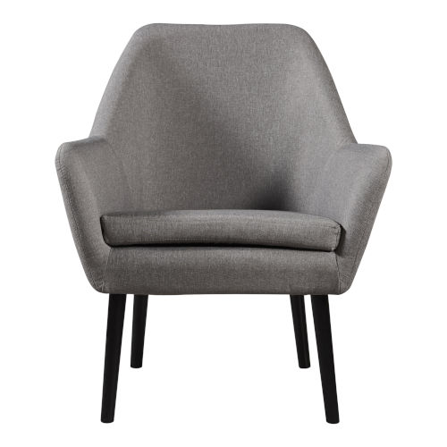 Divano Gray and Black Armchair