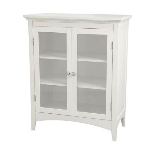 Madison White Double Floor Cabinet