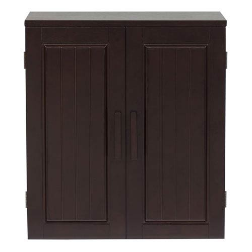 Catalina Dark Espresso Wall Cabinet
