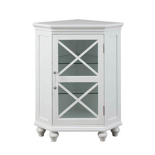 Riley Corner Floor Cabinet