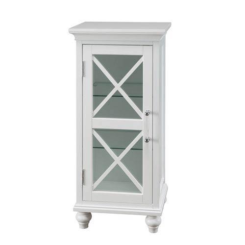 Elegant Home Fashions Riley Floor Cabinet with 1 Door