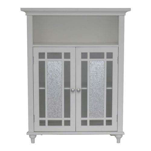 Windsor White Double Door Floor Cabinet