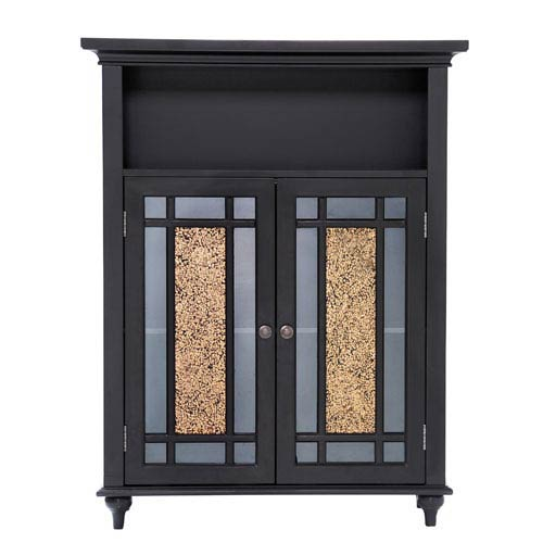 Windsor Dark Espresso Double Door Floor Cabinet