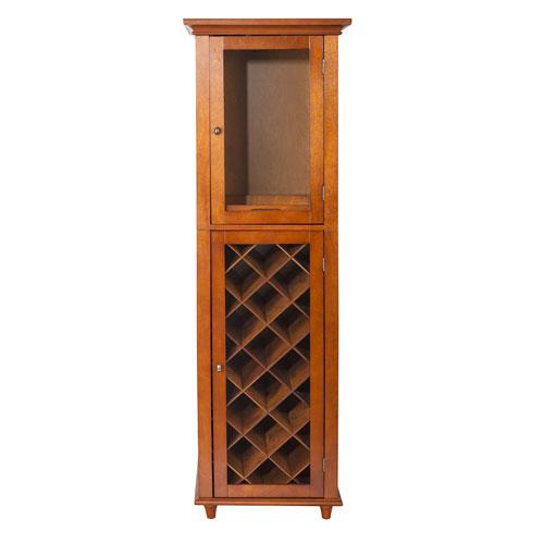 Napoli IV Mahogany Wine Cabinet