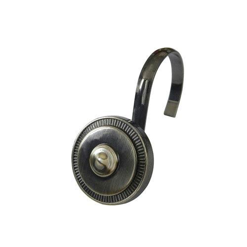 Oil Rubbed Bronze Shield Shower Hooks