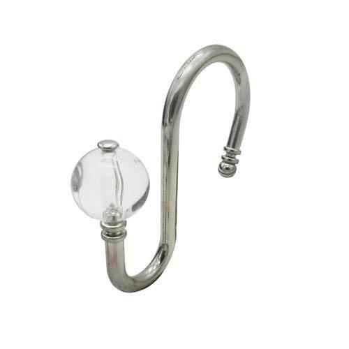 Shower Hooks in Brushed Nickel, Set of 12