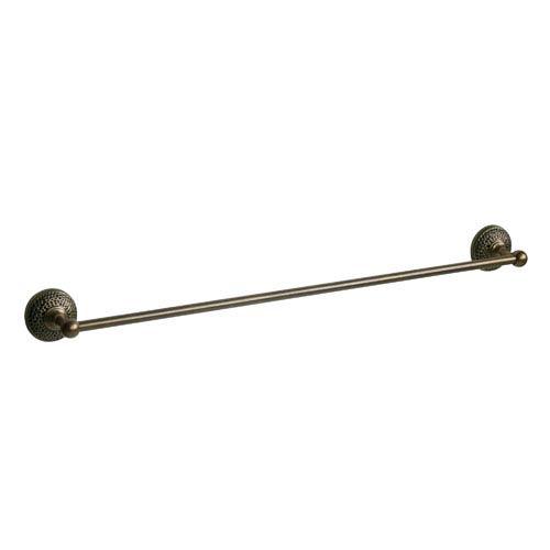Hammer Antique Brass 24-Inch Towel Bar