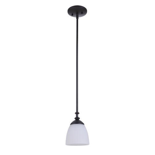 Marlowe Flat Black One-Light Mini Pendant