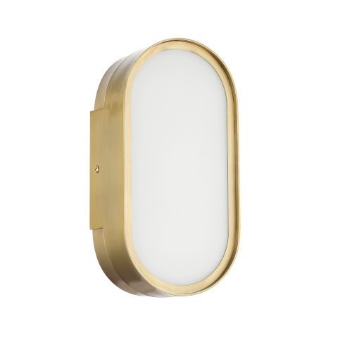 Melody Satin Brass LED Wall Sconce