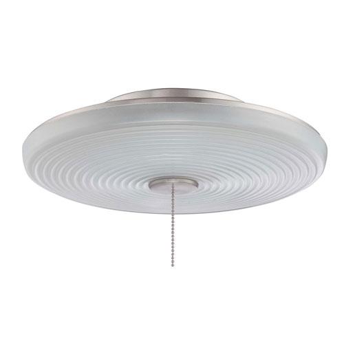 Universal Bowl Brushed Polished Nickel Led Fan Light Kit