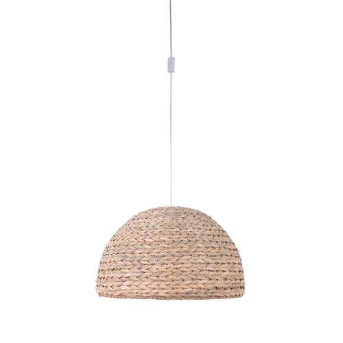 Swag Natural One-Light Pendant with Natural Sea Grass Shade