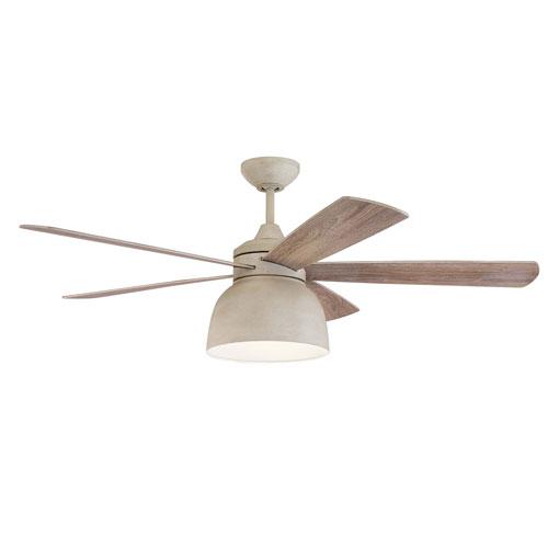 Ventura Cottage White Led 52-Inch Ceiling Fan