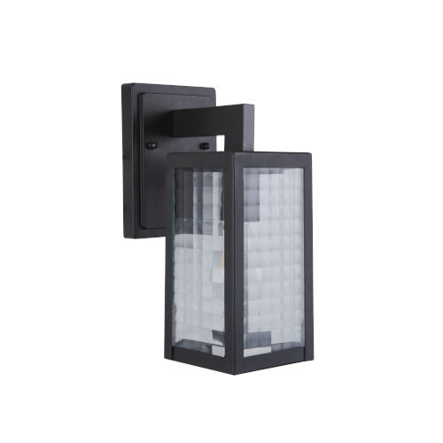 Deka Midnight 12-Inch Outdoor Wall Sconce