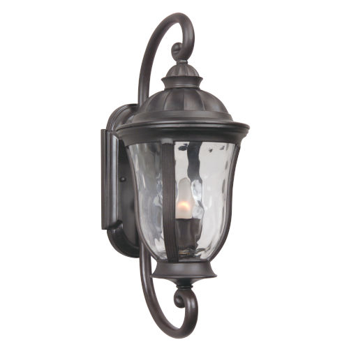Frances Bronze One-Light Small Outdoor Wall Mount