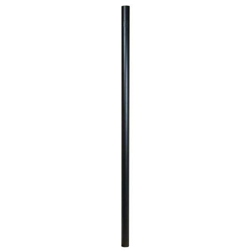 Black 84-Inch Direct Burial Post