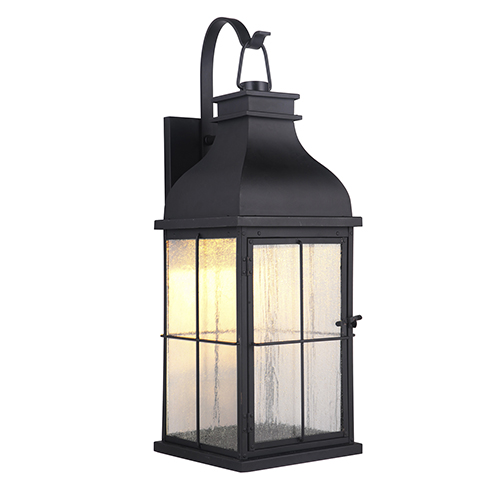Vincent Midnight LED Outdoor Wall Lantern
