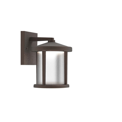 Bronze One-Light Outdoor Wall Sconce