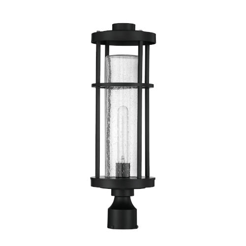 Encompass Midnight One-Light Post Mount