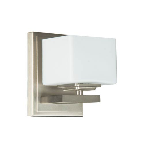 Encanto Brushed Nickel One-Light Wall Sconce