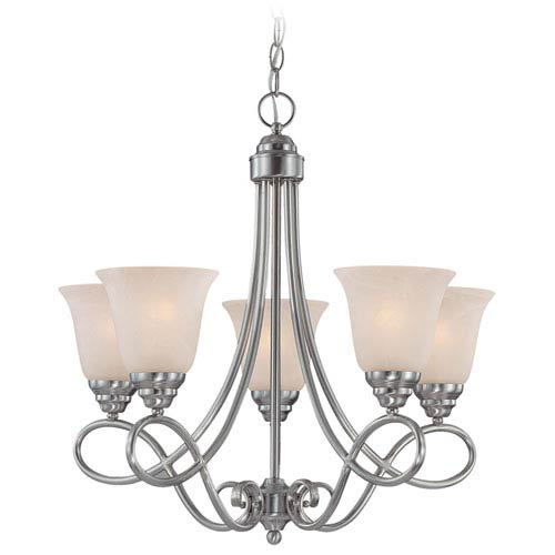 Craftmade Cordova Old Bronze Five Light Chandelier