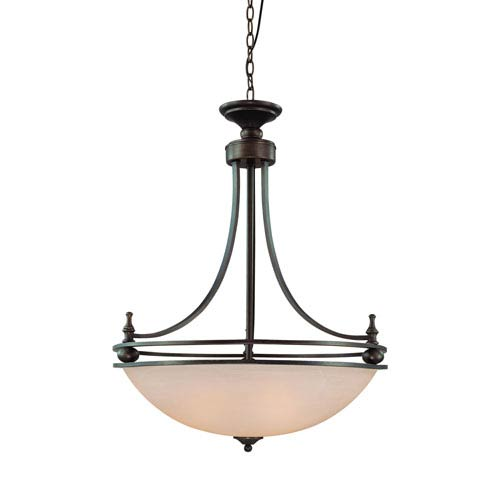 Craftmade Seymour Old Bronze Four Light Inv Pendant