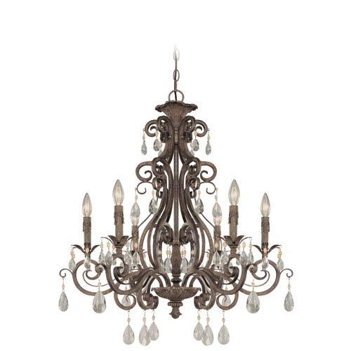 Englewood French Roast Six Light Chandelier