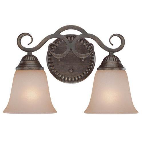 Craftmade Gatewick Century Bronze Two Light Vanity