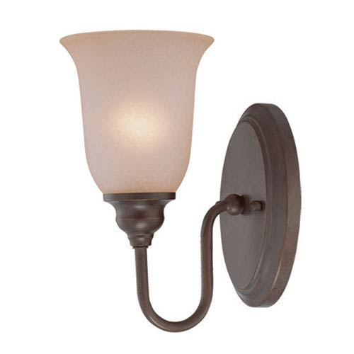Linden Lane Old Bronze Five-Inch One-Light Wall Sconce