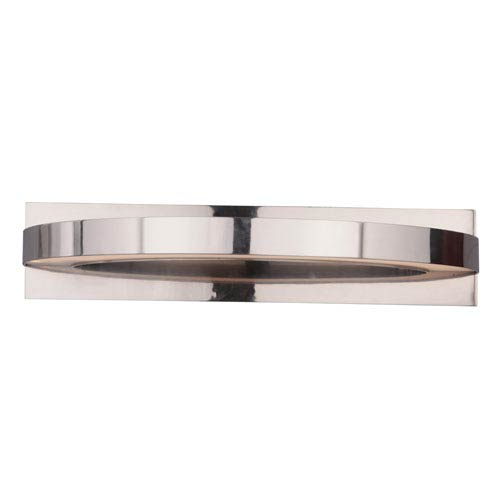 Craftmade Hyperion Brushed Nickel 22-Inch Two-Light LED Wall Sconce