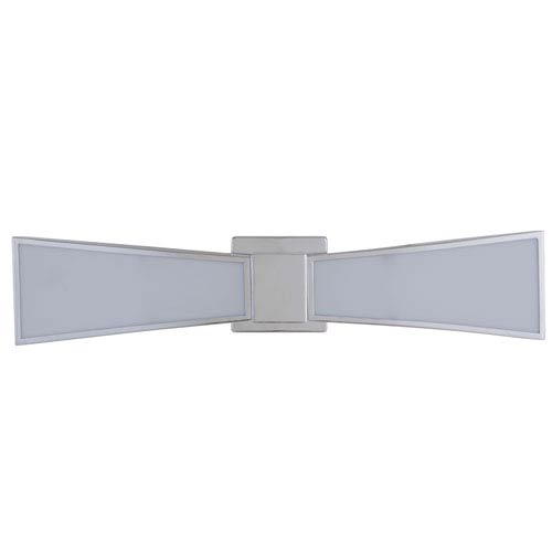Gallant Chrome 25-Inch Two-Light LED Wall Sconce