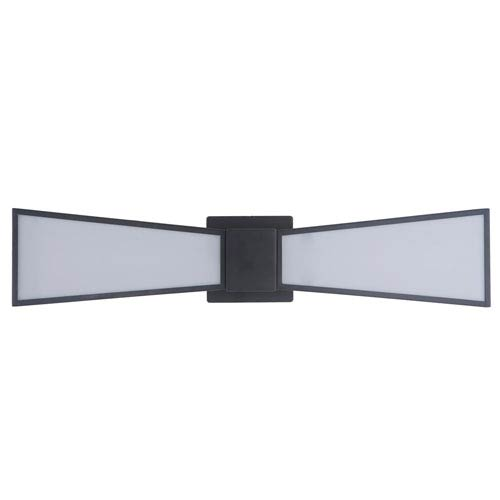 Gallant Matte Black 25-Inch Two-Light LED Wall Sconce