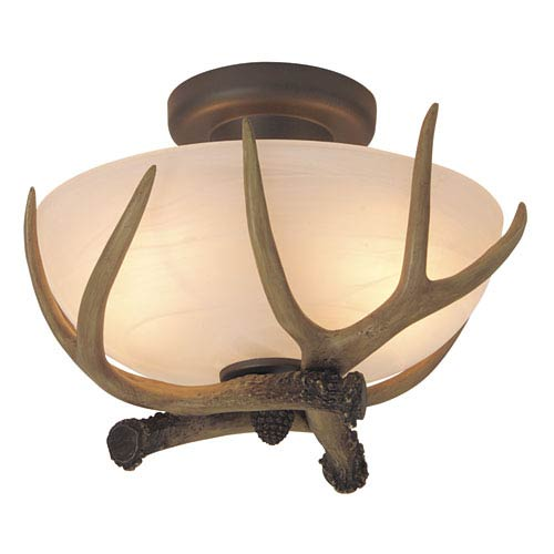 Antler Semi-Flush Ceiling Light