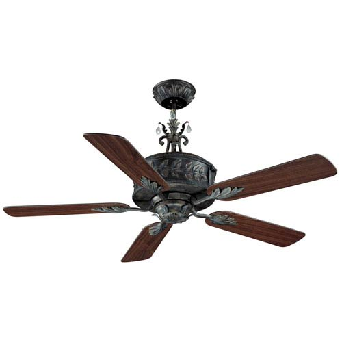 Antoinette Antique Verde 54 Inch Blade Span Ceiling Fan And Blades