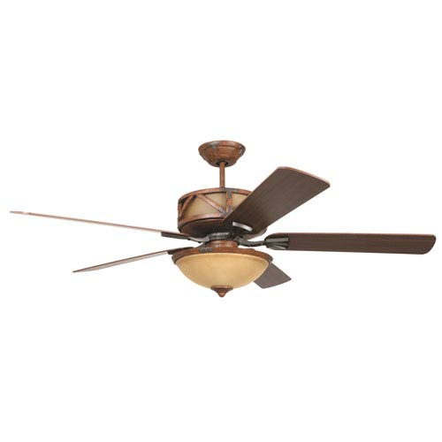 Craftmade deer lodge dark mahogany and iron 60 inch three light craftmade deer lodge dark mahogany and iron 60 inch three light ceiling fan with aloadofball Image collections