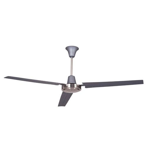 Craftmade Utility Titanium & Brushed Chrome 56 Inch Blade Span Ceiling Fan And Blades