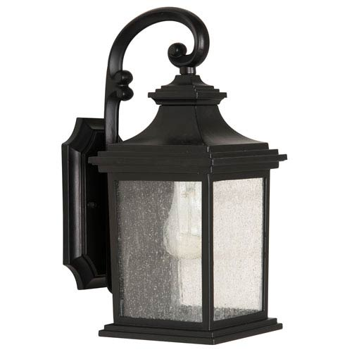 Craftmade Gentry Midnight One-Light 13-Inch Outdoor Wall Mount
