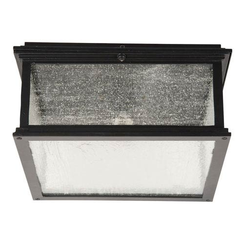 Gentry Midnight One-Light Outdoor Ceiling Mount