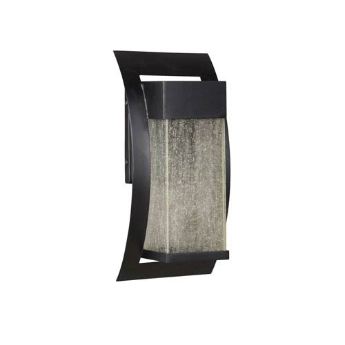 Craftmade Ontario Midnight Five-Inch LED Outdoor Wall Sconce