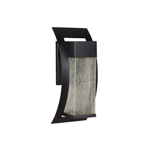 Craftmade Ontario Midnight Six-Inch LED Outdoor Wall Sconce