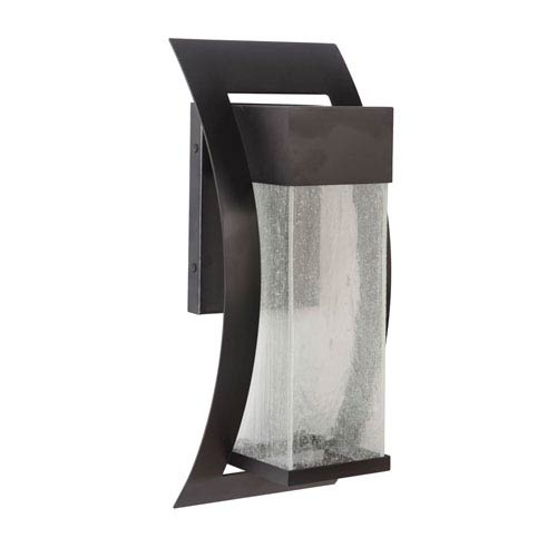Craftmade Ontario Midnight Eight-Inch LED Outdoor Wall Sconce
