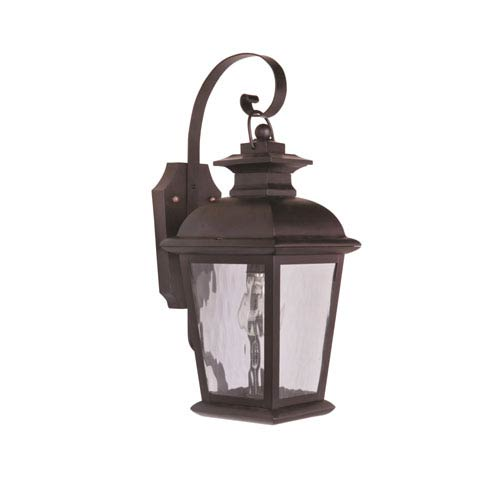 Branbury Oiled Bronze One-Light 17-Inch Outdoor Wall Mount