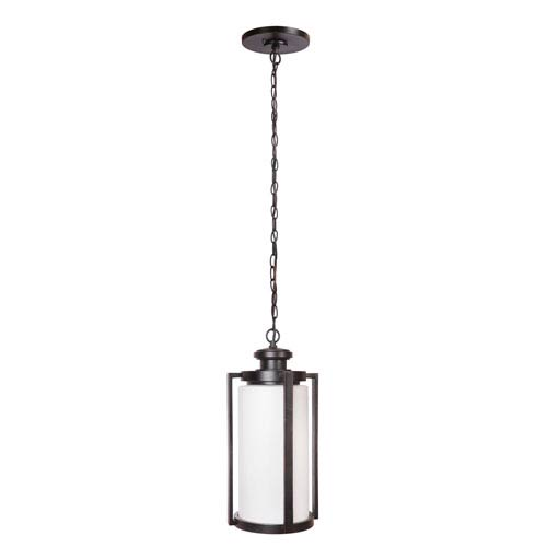 Remi Oiled Bronze Gilded Three-Light Outdoor Pendant