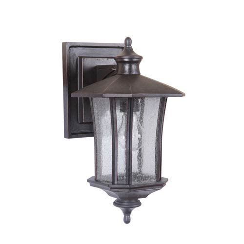 Craftmade Chateau Oiled Bronze Gilded Eight-Inch Outdoor Wall Sconce