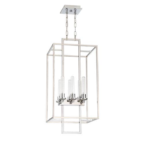 Craftmade Cubic Chrome 16 Inch Six Light Foyer