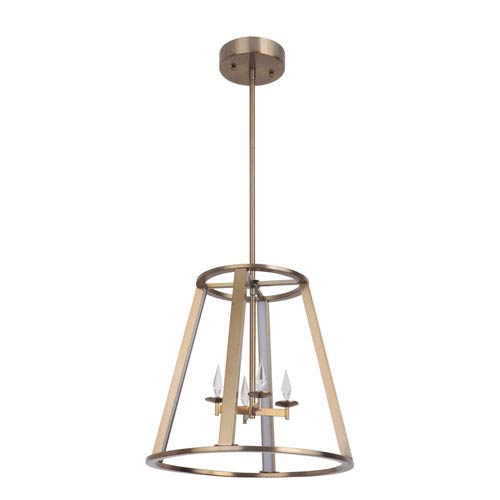 Craftmade Opus Satin Brass 16-Inch LED Foyer